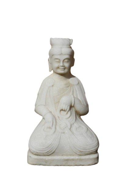 Marmor Stein Tempelwächter aus China für den Garten