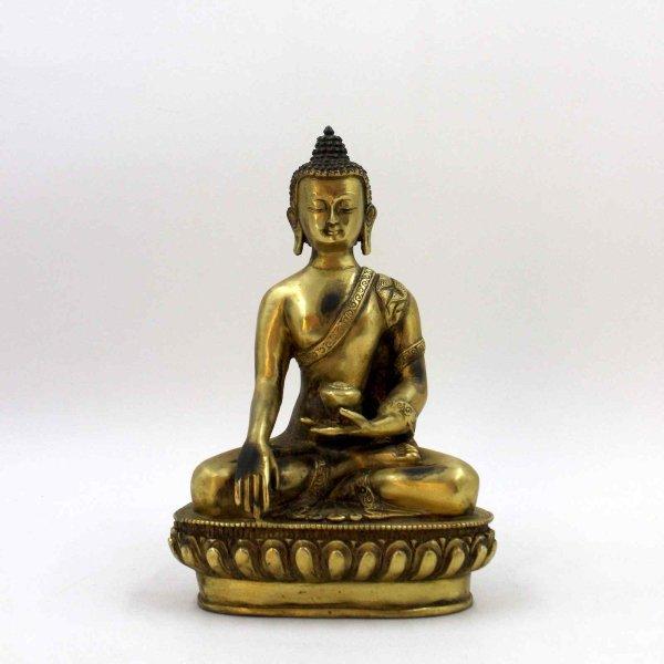 Shakyamuni Buddha Figur (22cm) Siddharta Gautama Bronze