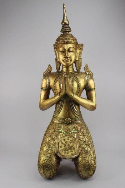 Thailändischer Bronze Tempelwächter, Teppanom