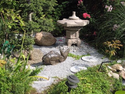 Asia-Garten-Ecke