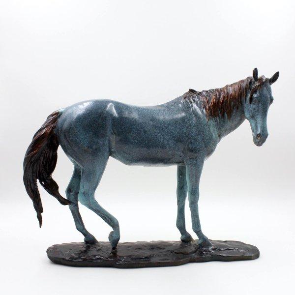 Ästhetisches Bronze Pferd aus China