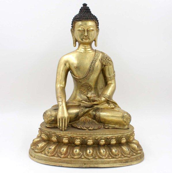 Shakyamuni Buddha Figur (43cm) Bronze Siddharta Statue