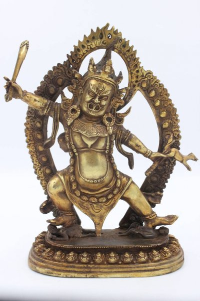 Mahakala Bronze Figur