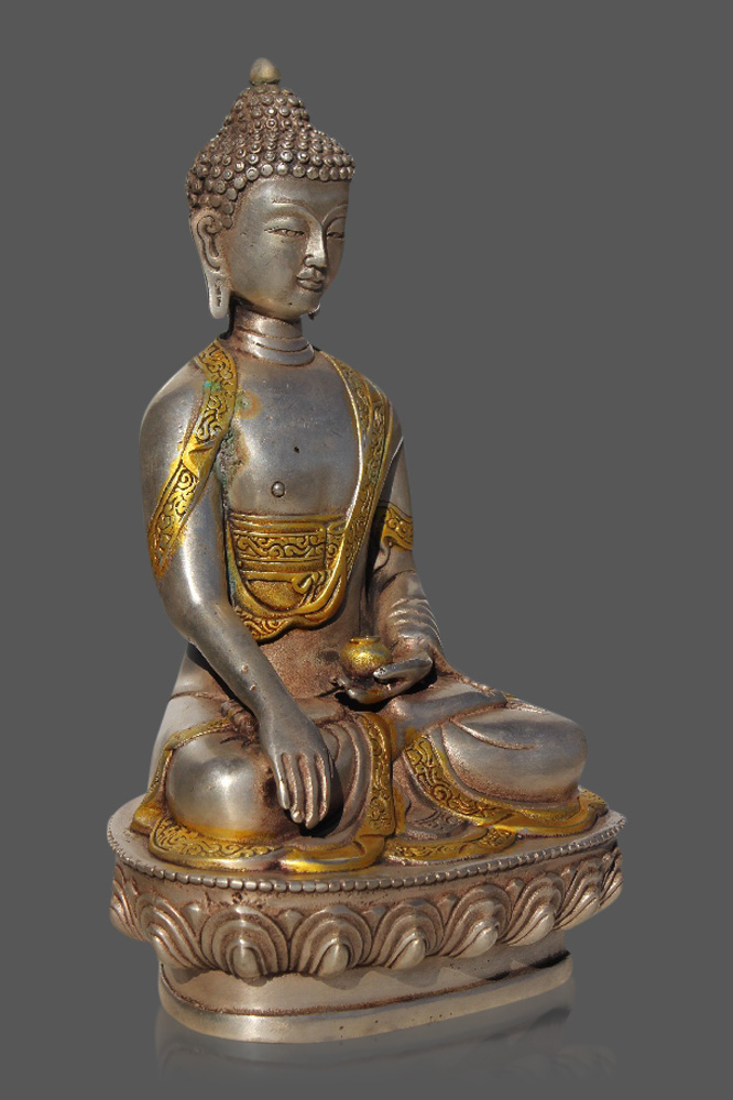 shakyamuni statue shakyamuni buddha figur online kaufen asien lifestyle. Black Bedroom Furniture Sets. Home Design Ideas