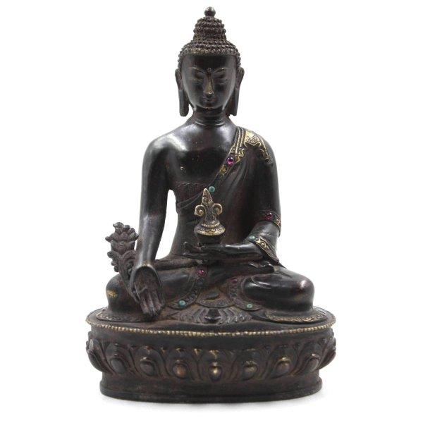 Medizin Buddha Figur (20cm) Bronze - Gesundheit