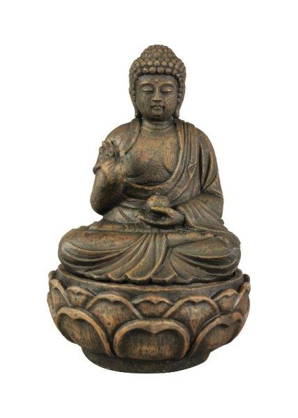 Buddha Brunnen aus Polystein