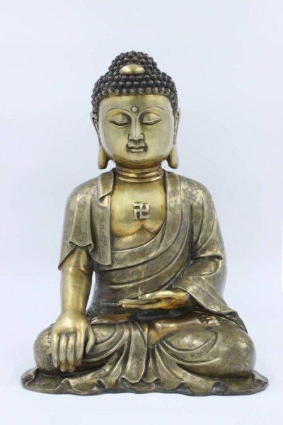 Bronze Buddha Figur Siddharta Gautama