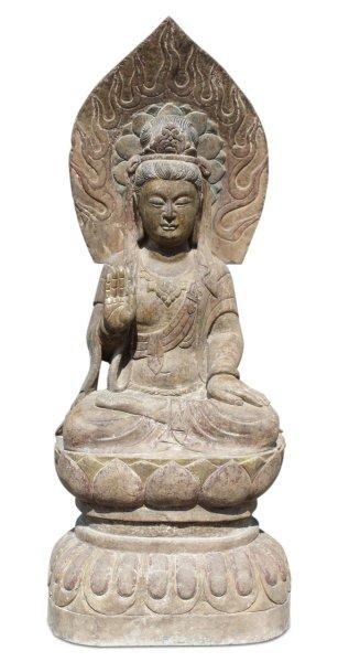 Garten Buddha Statue Kwan-Yin, 123 cm