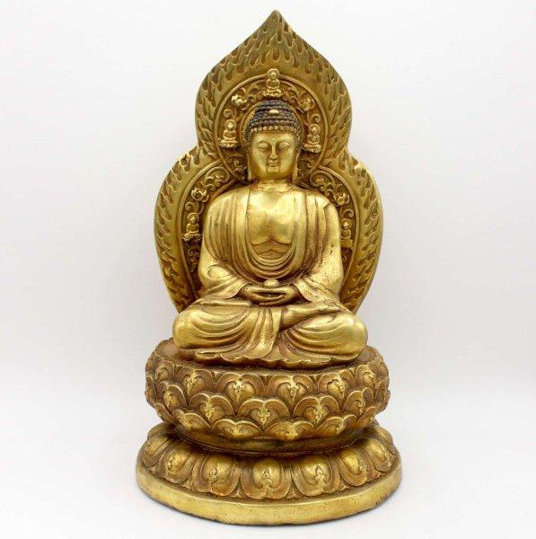 Amitabha Buddha (35cm) Bronze Figur Tibet