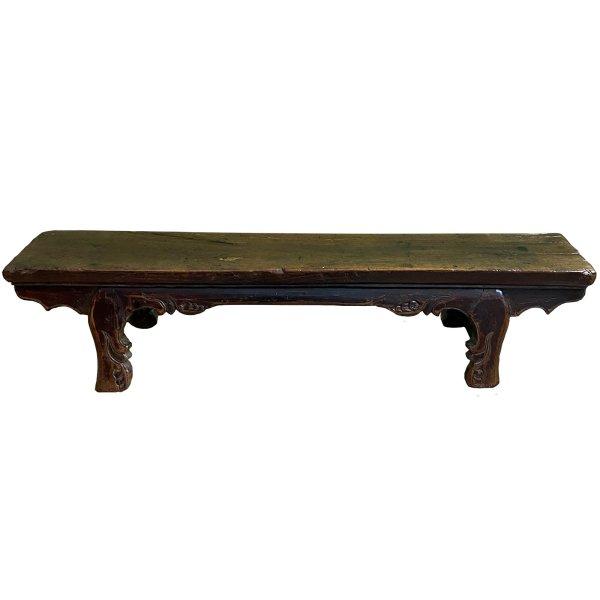 Alte Holzbank Lowboard - Ulmen Holz aus China