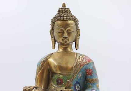 Neu eingetroffenes Unikat: Cloisonne Medizin Buddha ❤