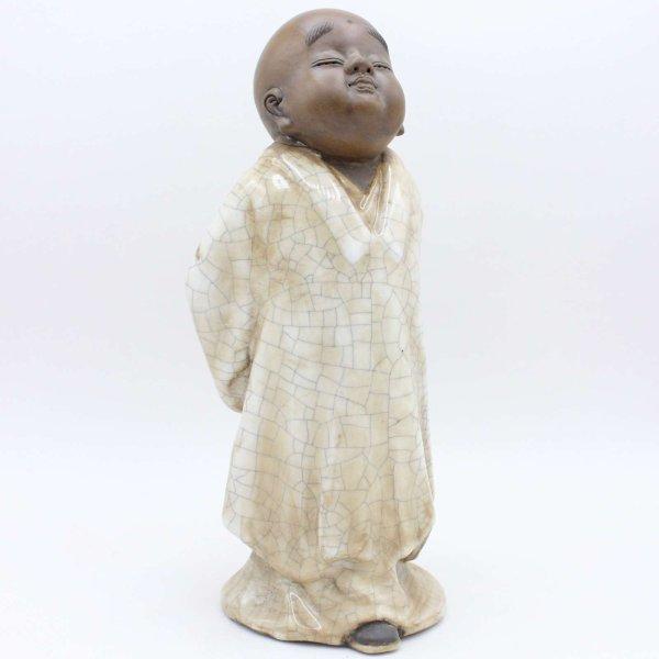 Chinesischer Tong Zi (26,5cm) Keramik - Porzellan Figur