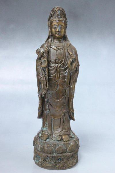 Guan-Yin Bronze Figur