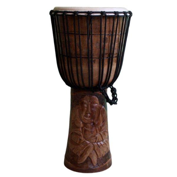 Djembe (60cm) Happy Buddha Holz Trommel