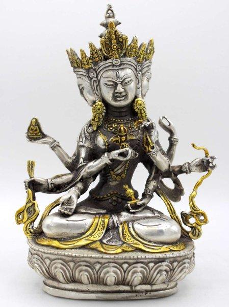 Buddha Figur Unshinisvijaya Namgyalma - Bronze
