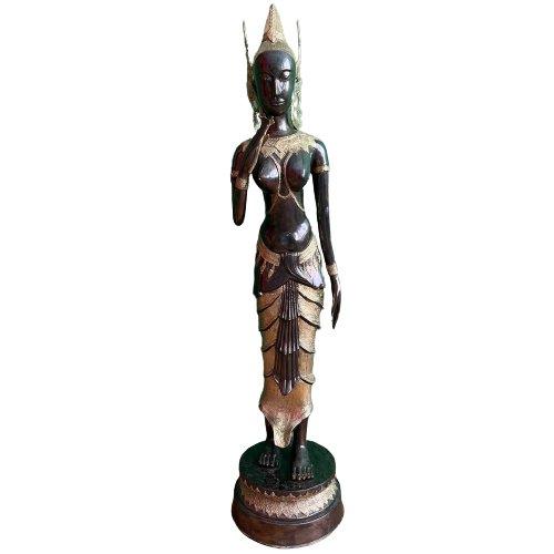 Thailändischer Tempelwächter (121cm) Teppanom stehend - groß