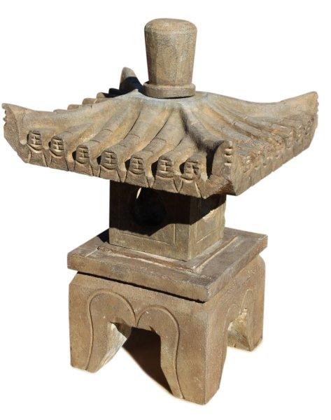 Asiatische Steinlaterne - Pagode für Ihren Garten