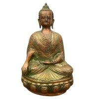 Siddharta Gautama Buddha Figur (39,5cm) Bronze