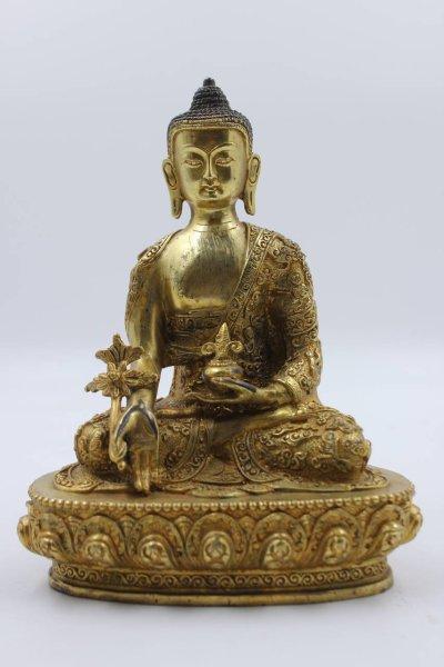 Medizin Buddha Figur, China