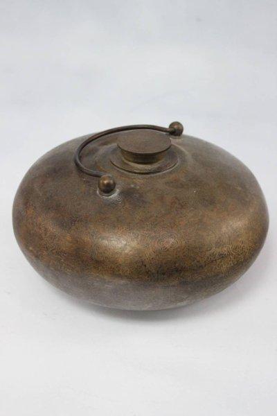 Asiatisches Kunstgefäß aus Bronze
