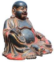 happy buddha figur aus china gross