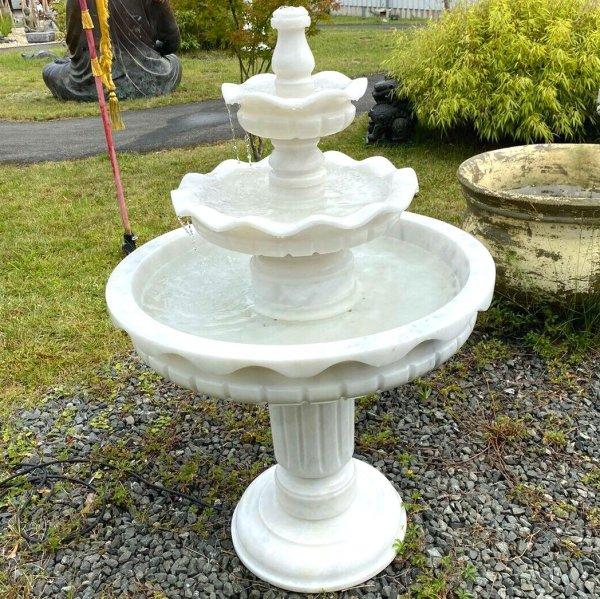 Garten Marmorstein Brunnen (138cm) Etagenbrunnen