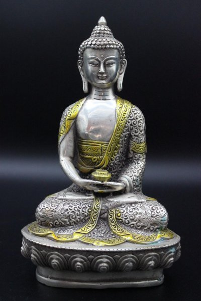 Amitabha Buddha Figur, Bronze