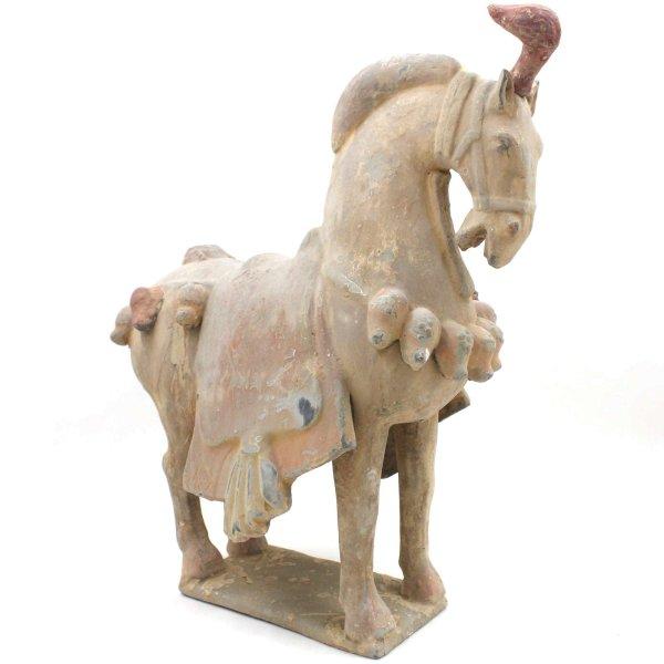 Chinesisches Tang Dynastie Pferd (42cm) Ton Figur