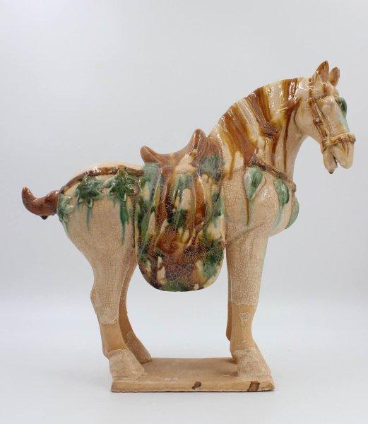 Tang Pferd aus Ton, China