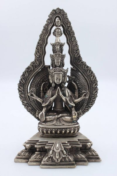 Buddha Figur Chenrezig Avalokiteshvara