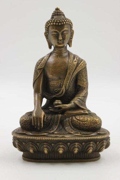 Siddharta Buddha Figur aus Bronze - China