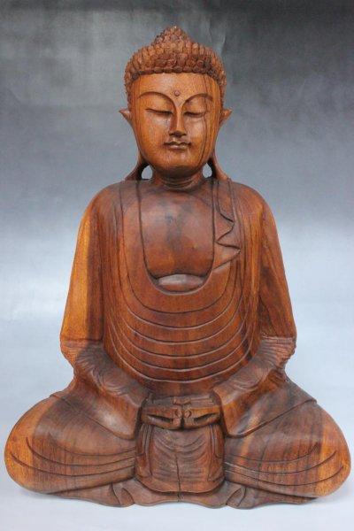 Amitabha Buddha Statue, Holz