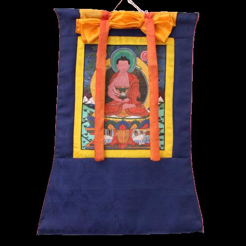 Tibet Thangka Amitabha Buddha (57,5cm) Handbemaltes Wandbild