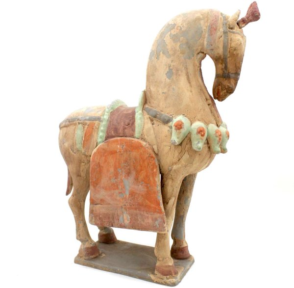 China Tang Pferd (43cm) Terrakotta Ton