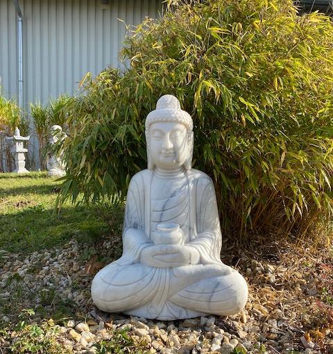 Asia-Garten-Buddha