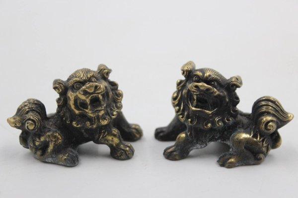 Chinesische Tempellöwen - Fu Dogs