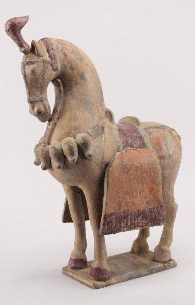 Terrakotta Tang Pferd aus China