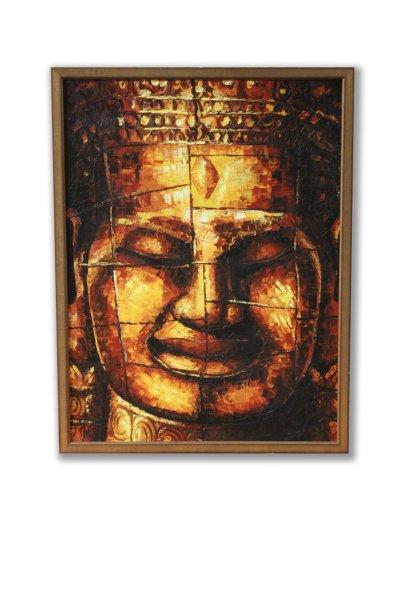 Acryl Buddha Bild-Wandbild Angkor Wat