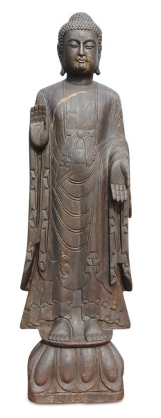 Garten Buddha Statue, Naturstein