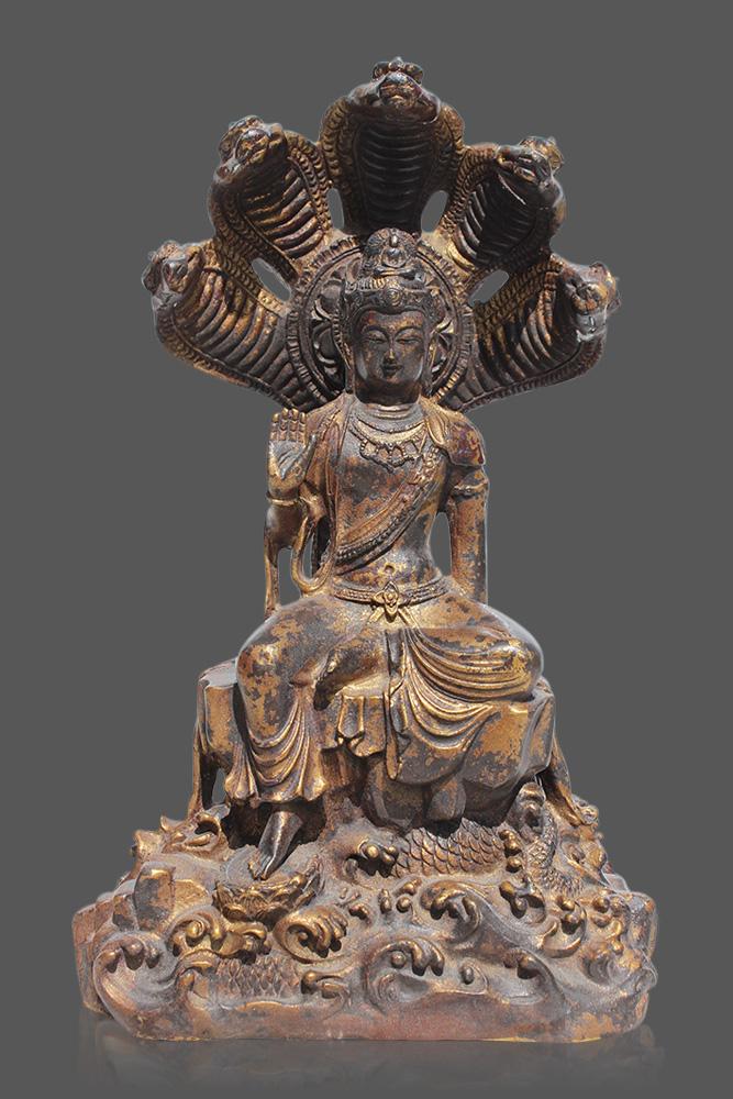 guan yin statue guanyin buddha figur online kaufen asien lifestyle. Black Bedroom Furniture Sets. Home Design Ideas