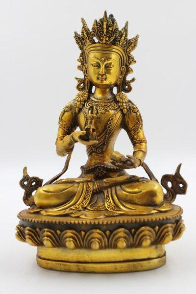 Bronze Buddha Vajrasattva aus China