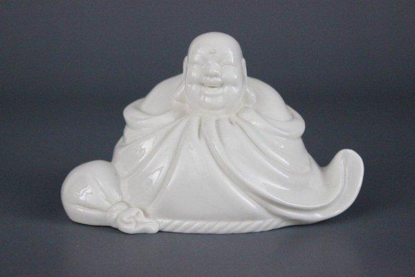 Dicker lachender Hotai Buddha, Porzellan