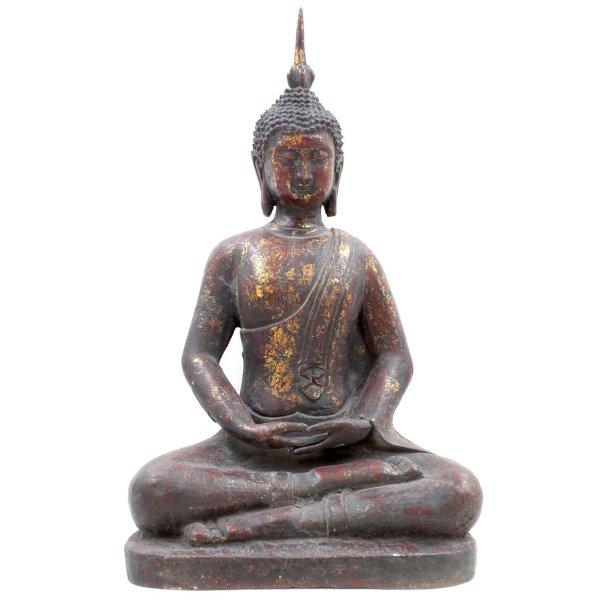 Amitabha Buddha Figur (46cm) Eisen Statue
