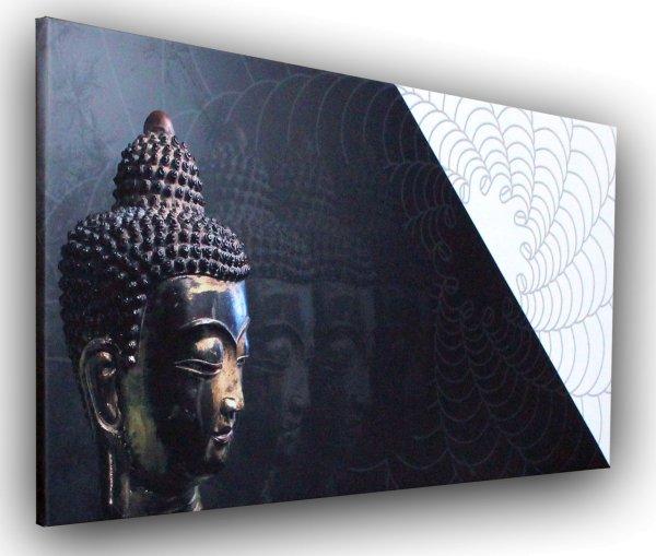 Wandbild: Buddha Vibrations