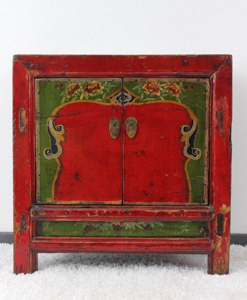 Asiatische Kommode - bemalt & restauriert