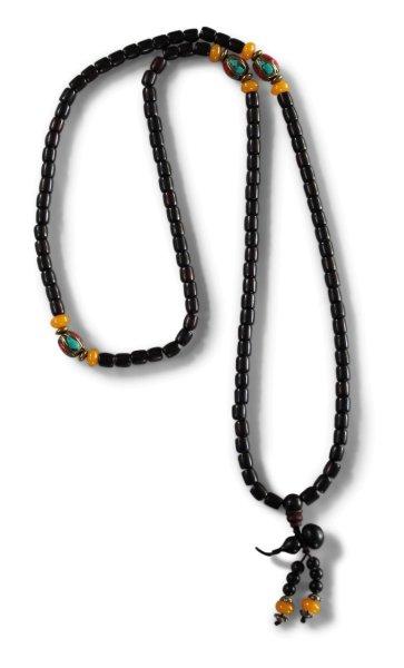 Sandelholz Mala Meditationskette - 108 Perlen