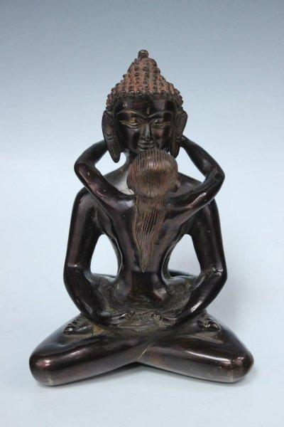 Yab-Yum Buddha aus Bronze