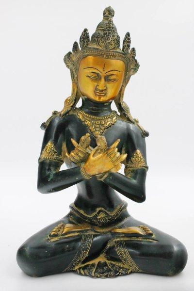 Vajradhara Buddha - Bronze Figur, Nepal