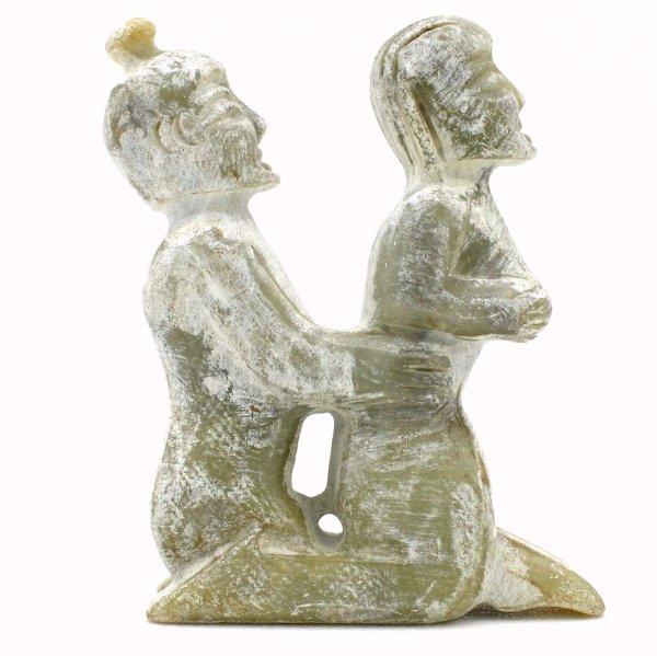 Hongshan Jade Kamasutra Figur (10cm) China Aktfigur