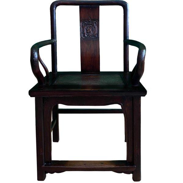 Chinesischer Holz Stuhl mit Armlehnen - China Möbel